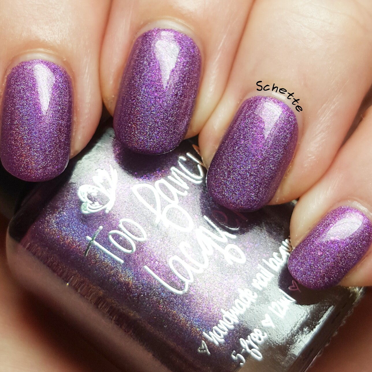 Too Fancy Lacquer - Sweet hugs
