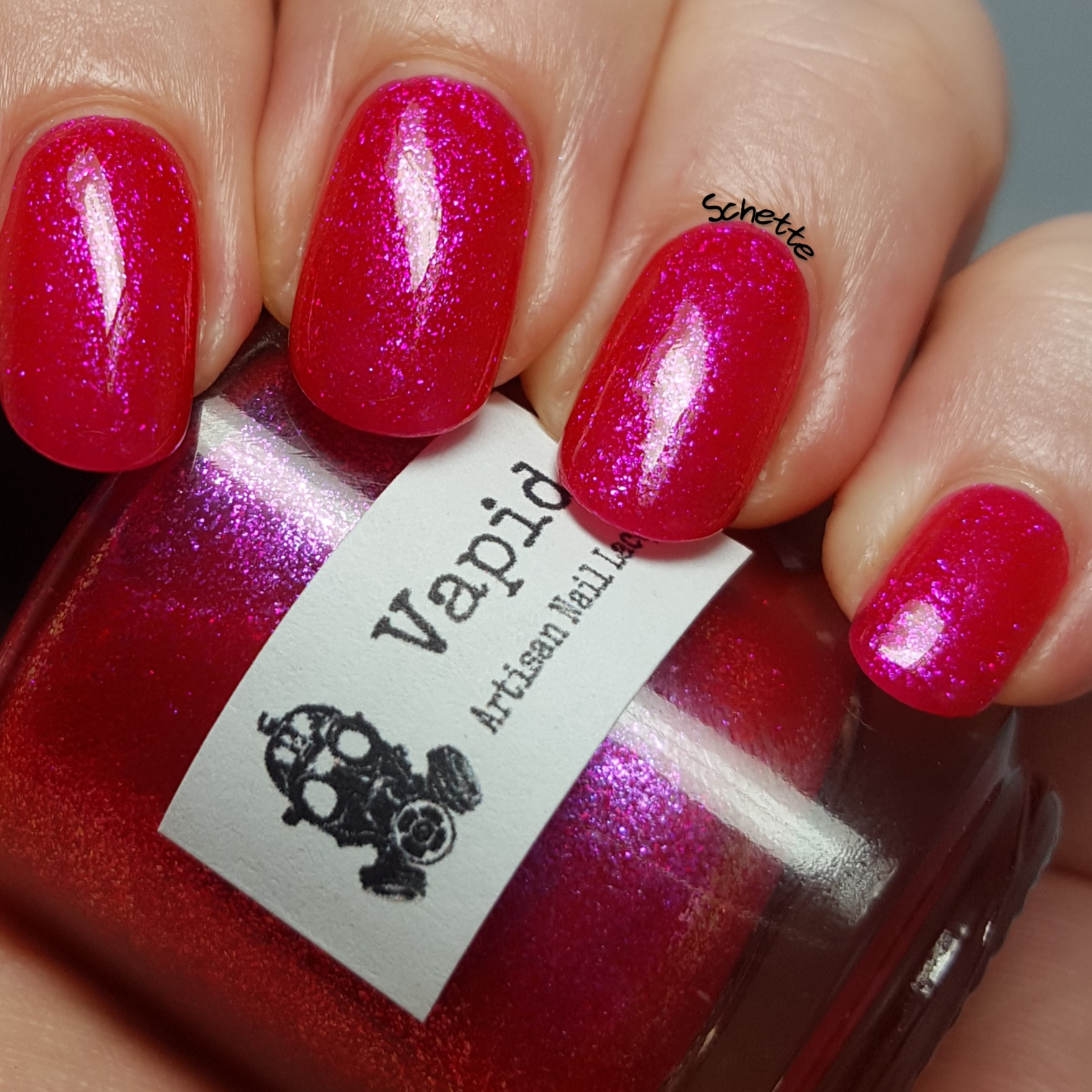 Vapid Lacquer - Trash can punch